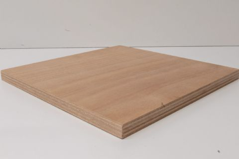 18mm Marine Ply Sheet 2500mm x 1220 Gaboon (Okoume) Throughout BS1088 WBP